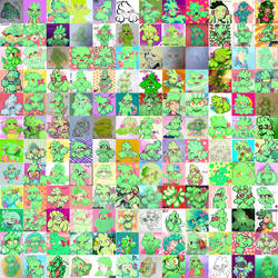 Mint Collage by LoulouVZ