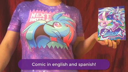 SPAICY COMIC AND MORE NOW AVAILABLE! - VIDEO by LoulouVZ