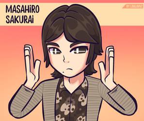 Masahiro sakurai by LoulouVZ