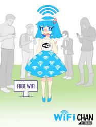 Wifi is my waifu by LoulouVZ