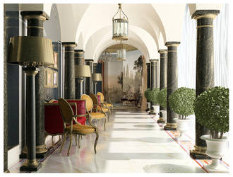 A nouveau riche's residence by piv0t