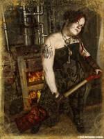 Steampunk Crematorium by BLOODYSIS
