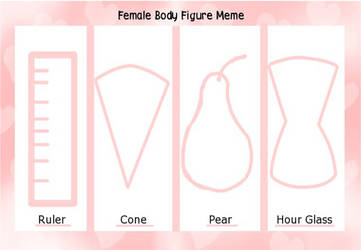 Female Body Figure Meme by IrisSapphire