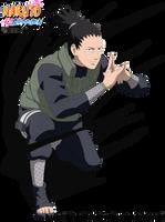 Shikamaru Kagenui no Jutsu by DennisStelly