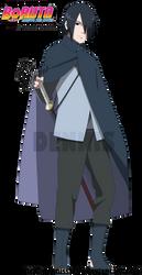 Uchiha Sasuke - Boruto the Movie by DennisStelly