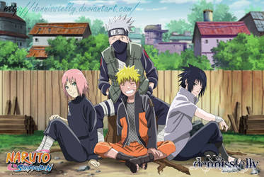 Team 7 Ending 40 - Lineart Colored by DennisStelly