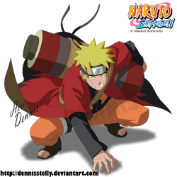 Naruto Sage Mode by DennisStelly