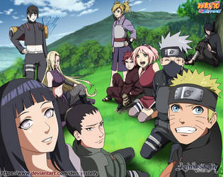 Naruto Shippuden Novels Arc - Cover by DennisStelly