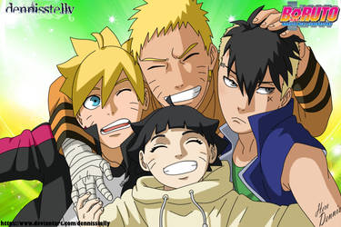 Boruto Next Generation - Naruto's Children by DennisStelly