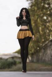 Stylish Woman 2 by keiku