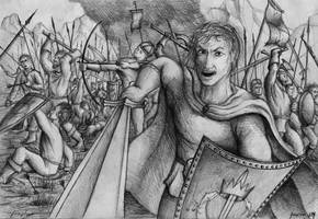 Battle on Morbethil by fragless