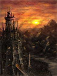 Tower of Malgador - URIOR by fragless