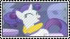 Rarity Hair Flip Stamp by SunnStamp