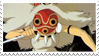 San - Princess Mononoke Stamp by WillowMoonWolf
