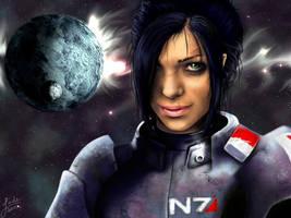 Commander Shepard by Ashtoreth