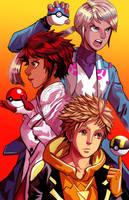 Pokemon Go fanart by primermonreal