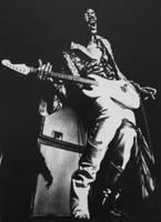 Jimi Hendrix by CubistPanther