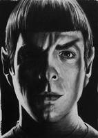 Quinto as Spock by CubistPanther