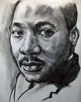 Martin Luther King by CubistPanther