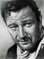 John Wayne by CubistPanther
