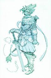 Knight: Djinn Slayer by Mikenestin