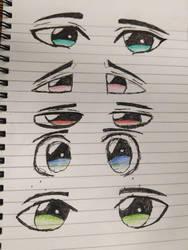 anime eyes by harutoakiyama2018