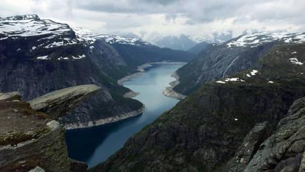 Trolltunga (Troll's Tongue), Norway by RockLou
