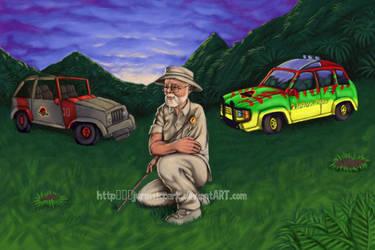 John Hammond for raptor-claw by jurassicpark