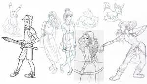 sketch dump 1 by julv