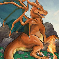 Charizard by julv