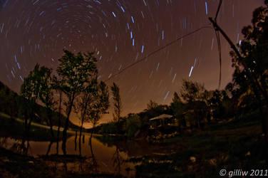 Star Trails by GilliW