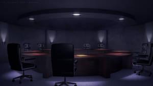 Underground Meeting Room by JakeBowkett