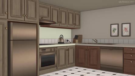 Kitchen by JakeBowkett