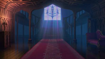 Manor Foyer by JakeBowkett