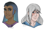 CM || Headshot | Nuriko and Clythus by SagaWolf