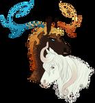 CM || Sauron and Ishmael for FaunaFawn by SagaWolf