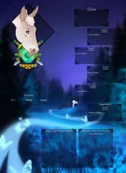 SoE | Shadow Path | Donkey character by SagaWolf