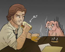 The Wolf Among Us- BLT by KittyConQueso