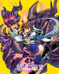 Soulcalibur VI - Hellfire of despair by Ewder