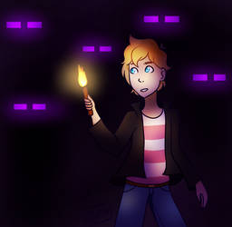 eyes in the dark by reallytrulyRush