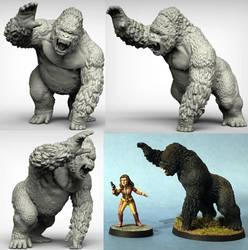 Giant Ape by Ergart