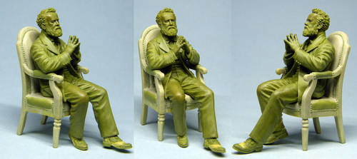 Jules Verne by Ergart