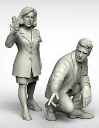 FBI agents by Ergart