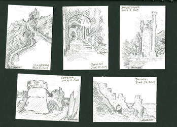 mini landscapes by fionagh