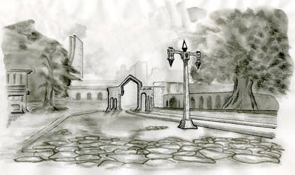 A street scene by fionagh