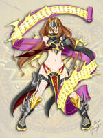 Brave Frontier: Sexy Ninja Kagura by kimmy77