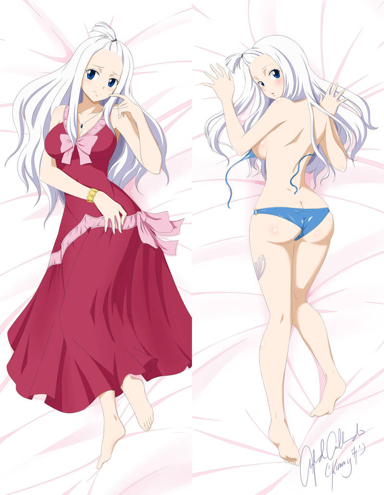 Dakimakura Commission: HalfBreed7387 (Mirajane) by kimmy77