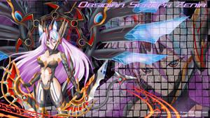 Brave Frontier: Zenia Wallpaper by kimmy77