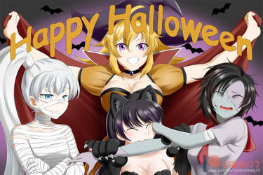 RWBY: Happy Halloween by kimmy77