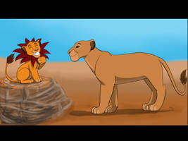 Simba just can't wait ! by Leeloo250